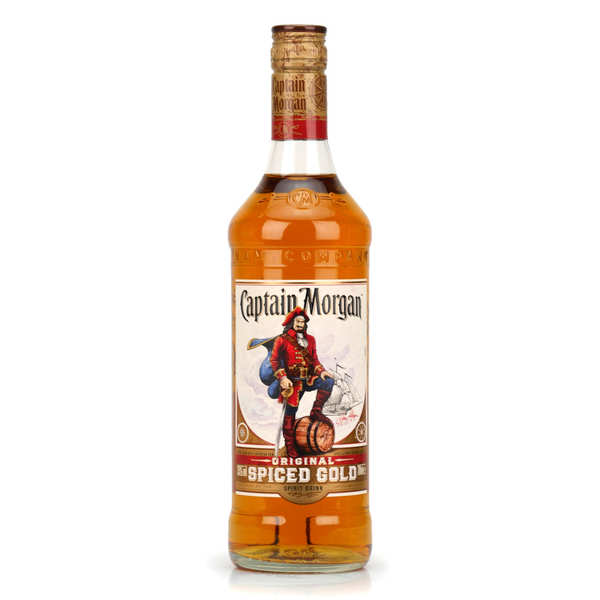 Rhum ® - spiced rum des caraïbes 35% - bouteille 70cl