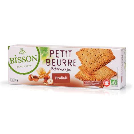 Bisson - Petit beurre au praliné bio