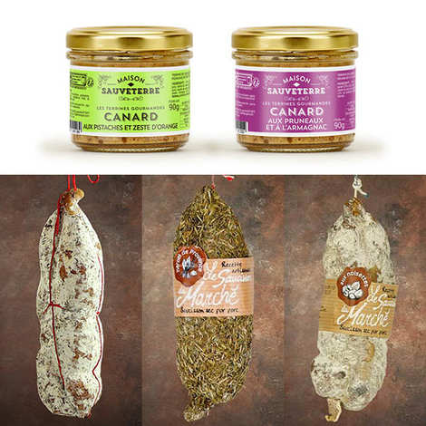 - Dry sausages and terrines discovery offer