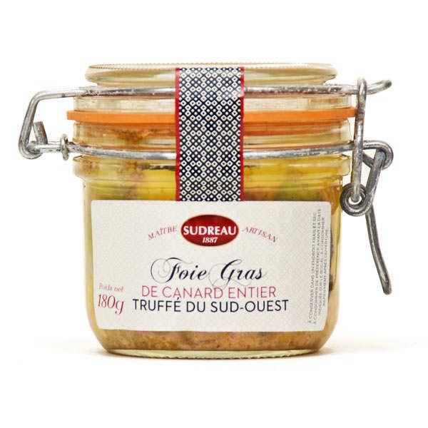 Foie gras de canard entier du Lot truffé