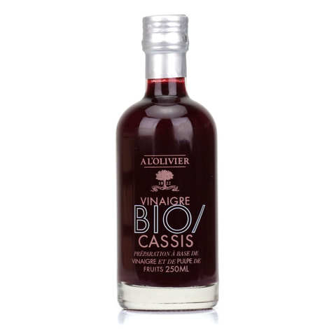 A L'Olivier - Organic Blackcurrant Pulp Vinegar