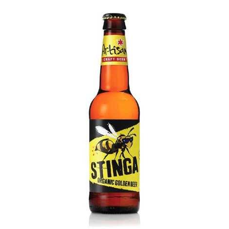 Evan Evans brewery - Stinga - Bière blonde bio du Pays de Galles 4.7%