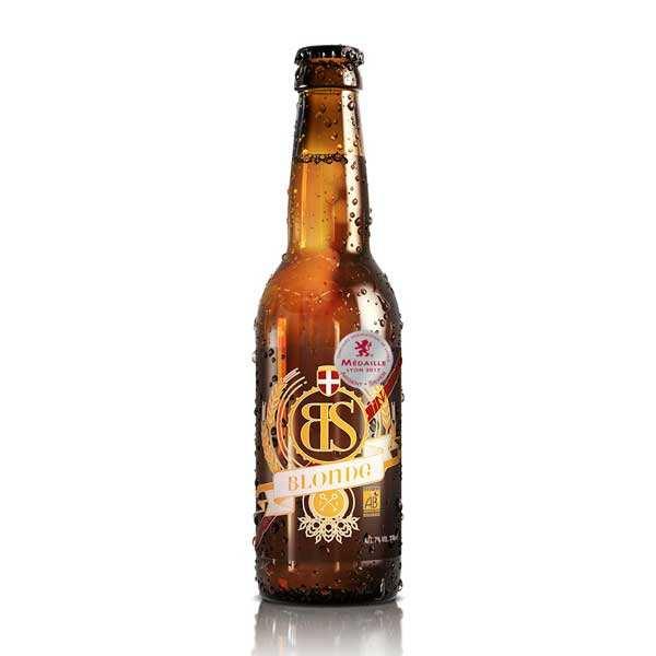 Bs blonde - bière blonde bio de savoie 5% - bouteille 33cl