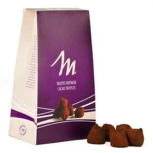 Chocolat Mathez - Chocolate and Coconut Fantaisie Truffles