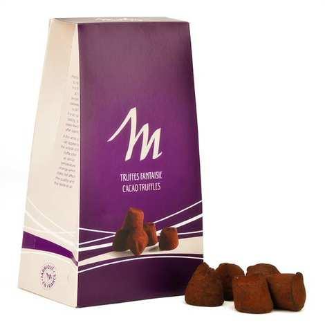 Chocolat Mathez - Truffes fantaisie chocolat pina colada