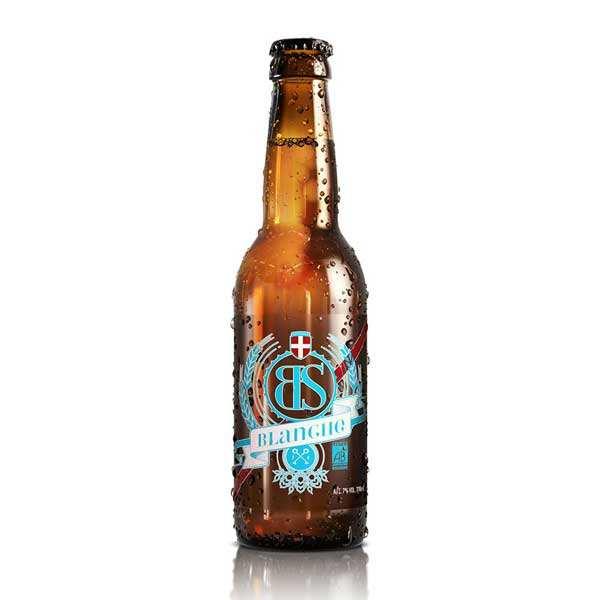 Bs blanche - bière blanche bio de savoie 5% - bouteille 33cl