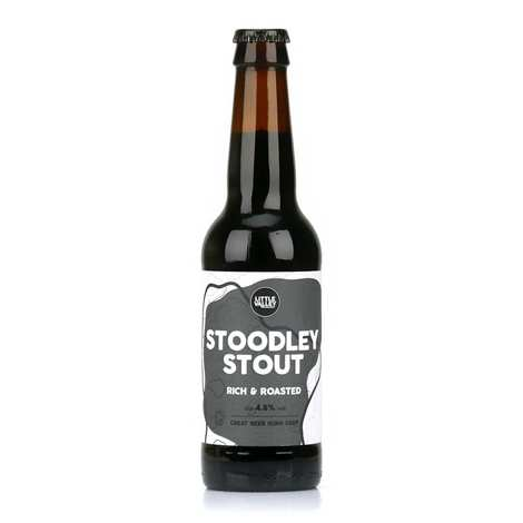 Brasserie Little Valley - Stoodley stout - Bière stout d'Angleterre bio 4.8%
