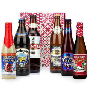 - Box découverte de 6 bières d'hiver (janvier)