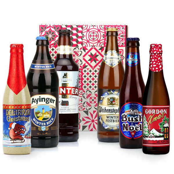 Box découverte de 6 bières d'hiver (janvier)