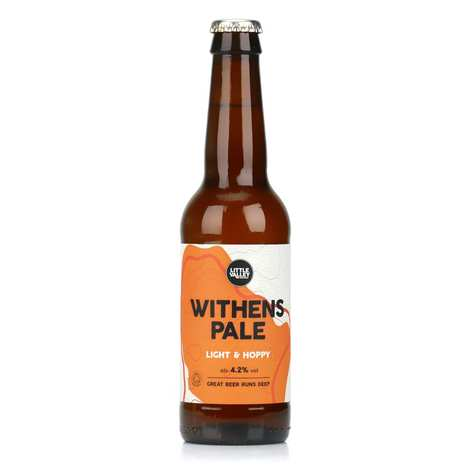 Brasserie Little Valley - Withens Pale - Bière blonde anglaise bio 4.2%