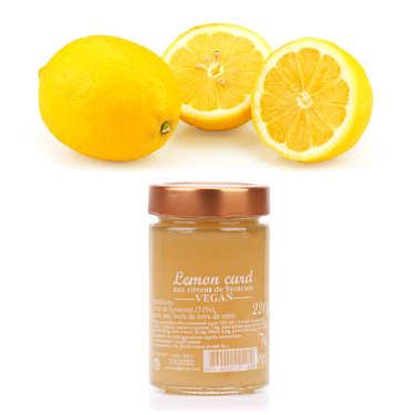 Assortiment citrons de Syracuse IGP bio et leur lemon curd