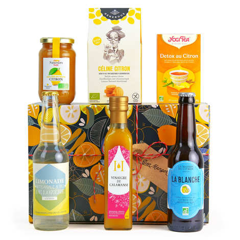 BienManger paniers garnis - Around Lemons Gift Box