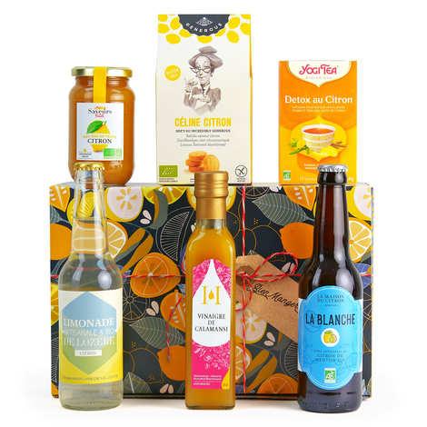 BienManger paniers garnis - Coffret cadeau citron gourmand