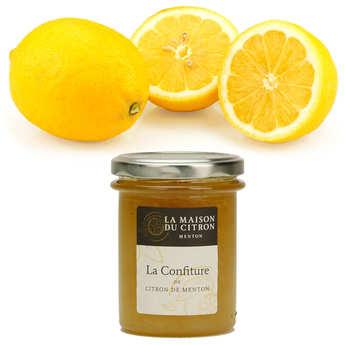 - Assortiment citrons de Syracuse IGP bio et confiture de citron de Menton