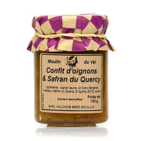 Moulin du Val - Confit of onions and Quercy saffron