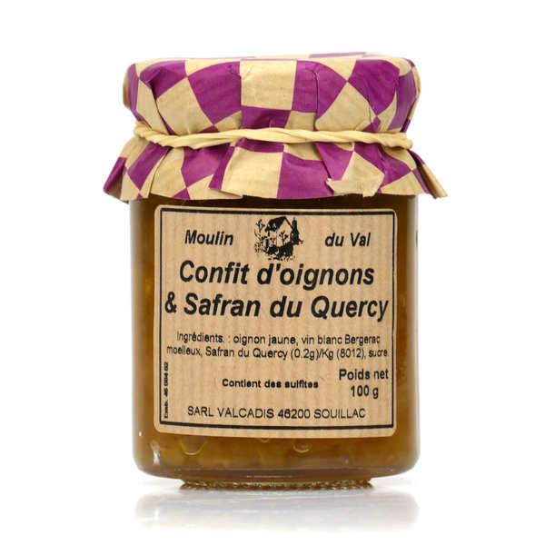 Confit d'oignons et Safran du Quercy