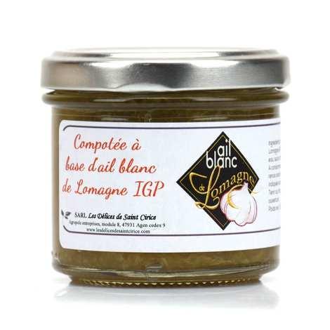 Association de défense de l'ail Blanc de Lomagne - Compote made with white garlic Lomagne IGP