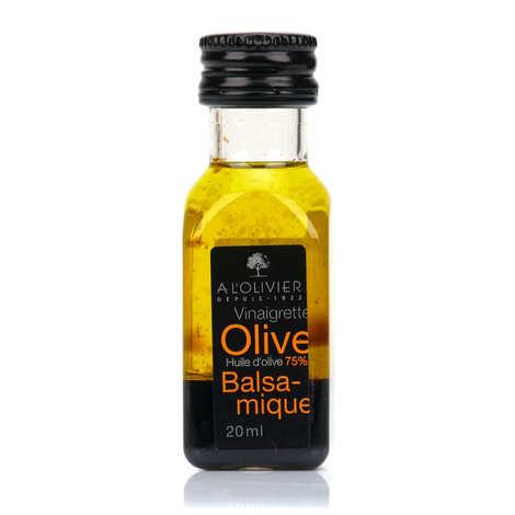 A L'Olivier - Mignonnette de vinaigrette - Huile d'olive et balsamique
