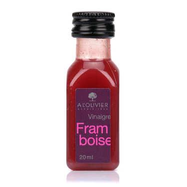 Raspberry Pulp Vinegar sample bottle