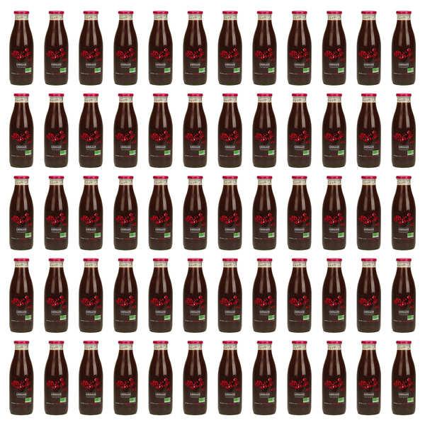 60 bouteilles de pur jus de grenade d'Iran bio - DLUO janvier 2019