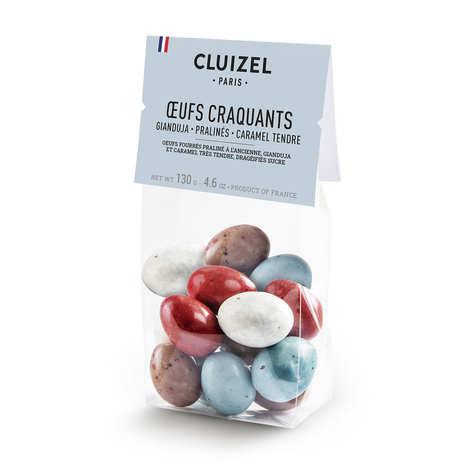 Michel Cluizel - Sachet d'oeufs de Pâques craquants en chocolat