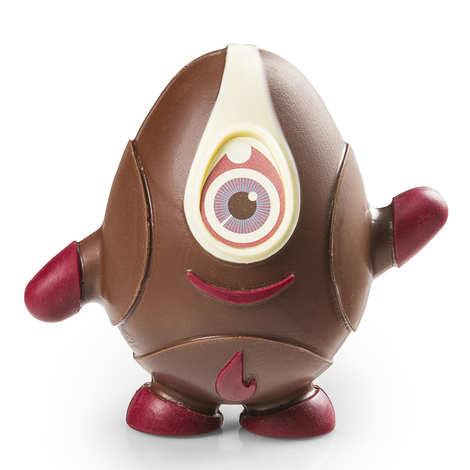 BienManger.com - Easter UFO Egg in milk chocolate