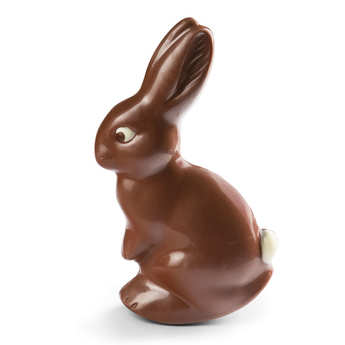 BienManger.com - Easter Cut Rabbit in Milk Chocolate