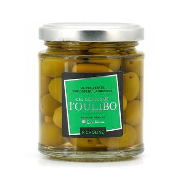 Olives vertes Picholines natures