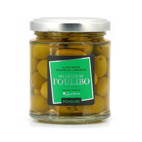L'Oulibo - Olives vertes Picholines natures