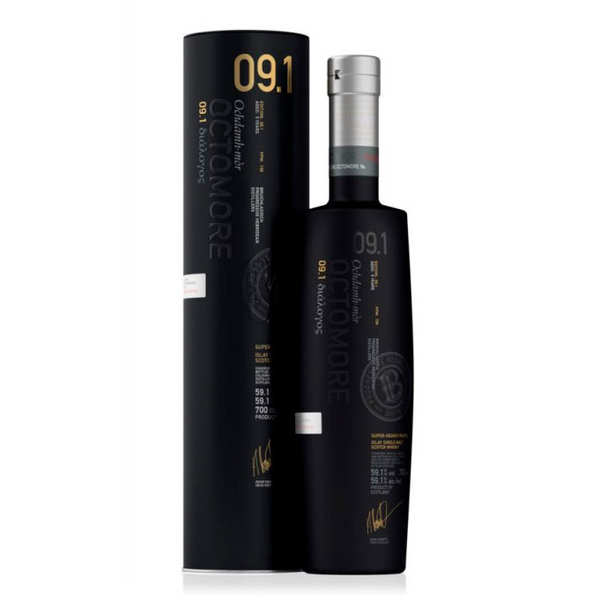 Octomore 9.1 whisky 59.1%