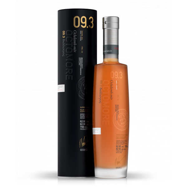 Octomore 9.3 whisky 62.9%