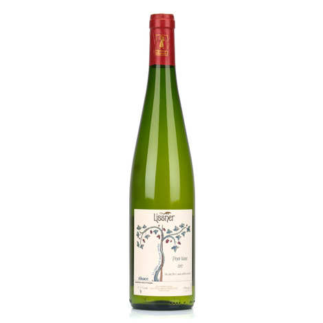Lissner - White Wine from Alsace 'Pinot Blanc' - Organic and No Added Sulfites