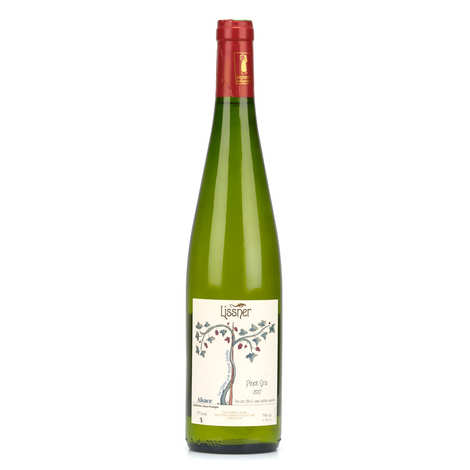 Lissner - Pinot gris d'Alsace AOC - bio et sans sulfites ajoutés