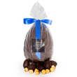 Hadrien chocolatier - Dark Easter Egg Fulled with Praline Little Eggs by Hadrien chocolatier