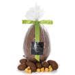 Hadrien chocolatier - Oeuf au chocolat au lait garni d'oeufs praliné - Hadrien chocolatier