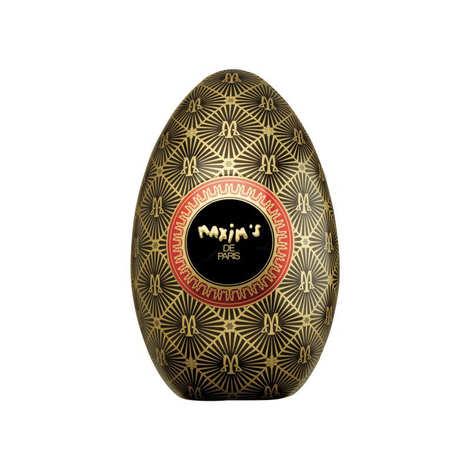 Maxim's de Paris - 2 Easter Eggs Maxim's Filled with Milk Chocolates with Praline