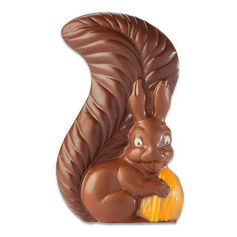 BienManger.com - L'écureuil en chocolat au lait