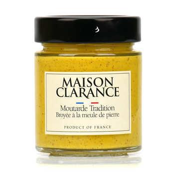 Maison Clarance - Moutarde tradition broyée à la meule de pierre