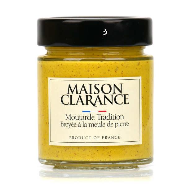 Moutarde tradition broyée à la meule de pierre