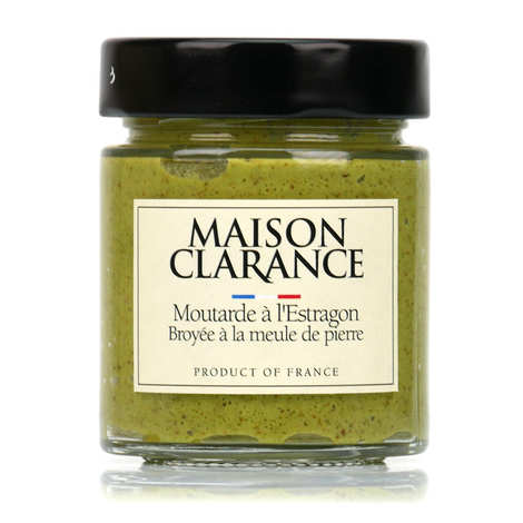 Maison Clarance - Tarragon Mustard Grinded with Stone