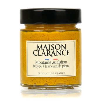 Maison Clarance - Moutarde au safran broyée à la meule de pierre