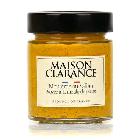 Maison Clarance - Saffron Mustard Grinded with Stone