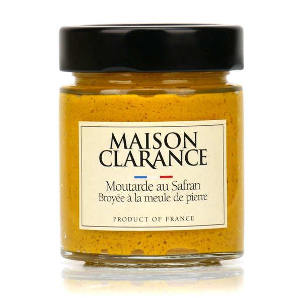 Moutarde au safran broyée à la meule de pierre