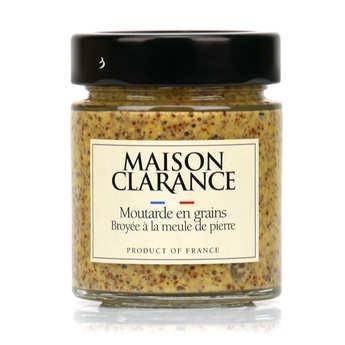 Maison Clarance - Moutarde en grains broyée à la meule de pierre