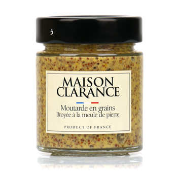 Maison Clarance - Wholegrain Mustard Grinded with Stone