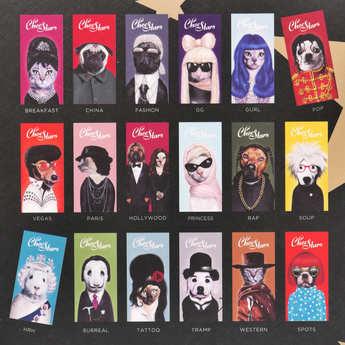 Sophie M - Choc Stars - 3 Chocolate Bar Gift Box
