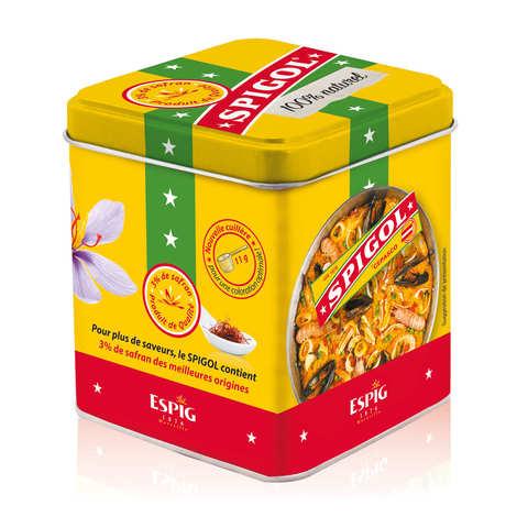 Spigol - Spigol® - mélange d'épices pour paëlla dont 3% de safran