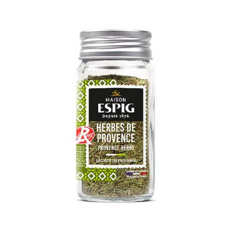 Maison Espig - Herbes de Provence bio récoltées en Provence Label Rouge