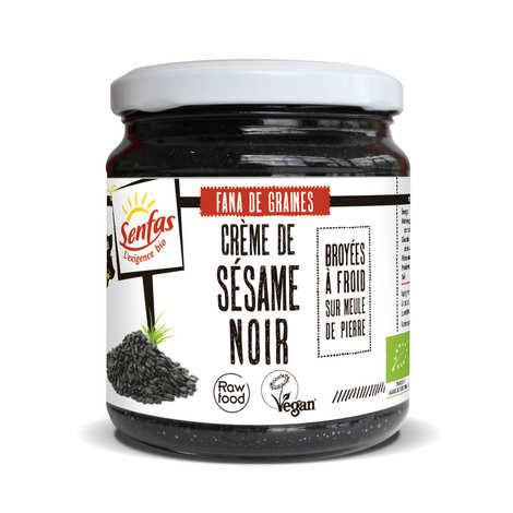 Senfas - Crème de sésame noir bio