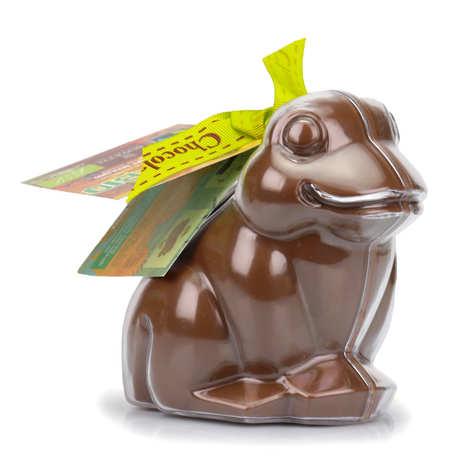 Bovetti chocolats - Bimbi Grenouille en chocolat au lait et son moule à réutiliser